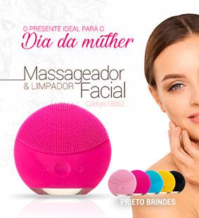Prieto Brindes-Massageadores faciais