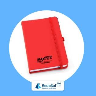 Caderno com capa dura