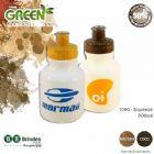 Squeeze ecológico promocional personalizado 300 ml Green Coco ou Madeira.
