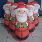 Papai-Noel infl�vel, formato Jo�o Bobo ou Teimoso infl�vel