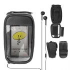 Bolsa para ciclista em poliéster com visor em PVC 210D para controle de telefone e iPod. Material Principal: Poliéster  - Altura : 170 mm - Largura :...