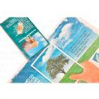 Eco postal reciclato sache