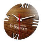 Relógio de parede redondo Ipê