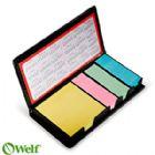 Brindes Personalizados - Bloco para anota��es auto colantes 4 cores - 160 fls