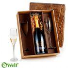 Brindes Personalizados - Jogo de ta�as de vidro para champagne 140 ml - 2 p�s