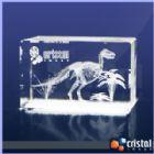 Cristal Image - Bloco Personalizado em Cristal com grava��o interna a laser. Pode ser gravado em 2D ou 3D, na posi��o horizontal ou vertical. Medidas: 60 X 60 X 90 mm...