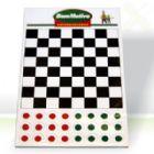 Stamp Visual - Jogo de damas com grava��o personalizada. Sua marca oferecendo divers�o para seus clientes!