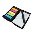 Brindes Personalizados - Bloco de anotacoes com adesivo e caneta