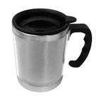 Ka Brindes - Caneca de inox�e acr�lico com tampa rosque�vel, capacidade para 400 ml. Adquira j� um brinde resistente que garante o transporte das suas bebidas!