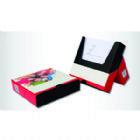 Brindes Personalizados - Bloco anota��o caixinha  com suporte  �timo para mesa a parte traseira pode ser usada para guardar anota��es