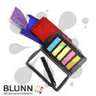 Blunn - Bloco de anota��es port�til com sticky-notes, acompanha minicaneta, ideal para eventos, brindes, uso interno. � um brinde usado o ano todo e aumenta a...