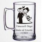 Brindes Personalizados - Caneca (Acr�lica) 400ml. Confeccionada em acr�lico cristal at�xico-Perfeitas para bodas, casamentos, bares, choperias, restaurantes, empreas,formatura...