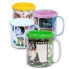 JAX Brindes - Canecas para personalizar. Dispon�vel em 6 cores variadas.