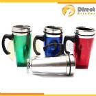 Direct Brindes Personalizados - Caneca t�rmica 450ml em inox com corpo em acr�lico e fundo quadrado personalizada. Consultar as cores dispon�veis.
