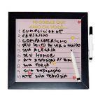 Galeria Gift - Quadro lousa personaliz�vel com calend�rio, datas comemorativas, quadro de notas. Quadro em MDF  e vidro com diversas op��es de arte e caneta com apag...