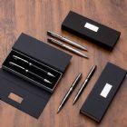 Conjunto caneta e lapiseira metal