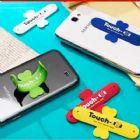 Suporte para celular touch U > Toque para abrir o formato U