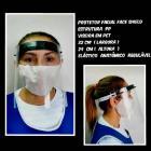 Máscara facial PP