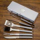Kit Churrasco 5 peças com maleta de alumínio