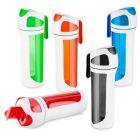 Squeeze plástico 550 ml com alça de mão e emborrachado