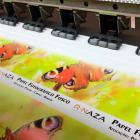 Adesivo com impressão digital de alta definição