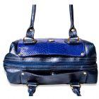 Bolsa Feminina com alça transversal em couro de camurça