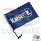 Bandeira para Vidro de Carro estampada em tecido Duralon® 100% poliéster. O que a  torna mais duradoura entre outros tecidos de bandeira.  Acompanha...