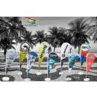 Banderart - Wind banner� � ideal para divulga��o, em eventos em geral, praias, competi��es, ralis e exposi��es. Sua imagem ser� vis�vel, devido sua estrutura. Gir...