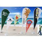 Banderart - Wind banners� em tecido Duralon� 100% poli�ster com haste girat�ria desmont�vel e modelo exclusivo patenteado. Visibilidade garantida para a sua marca...