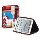 Porta tablet termo moldado com revestimento, zíper e gravação personalizável