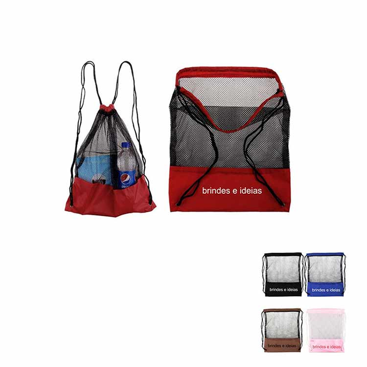 2d927717a mochila saco com tela - 145088 | Portal Free Shop Brindes