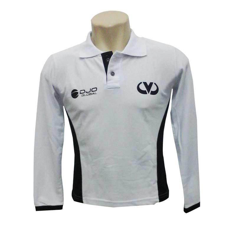 Camisa Polo manga longa - 183733  c72d129f9e37b