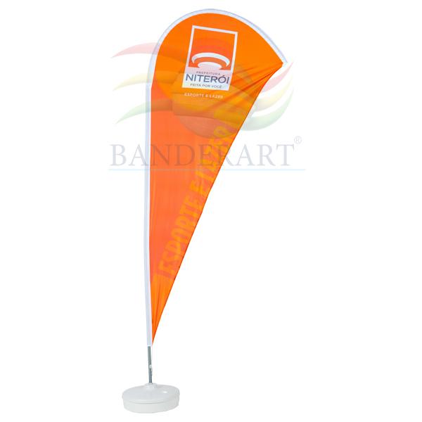 Wind banner® é ideal para divulgação, em eventos em geral, praias,  competições, ralis e exposições. Sua imagem. 2b1320be46