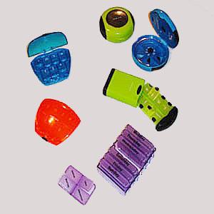 wigon - Porta comprimidos com diversos formatos.