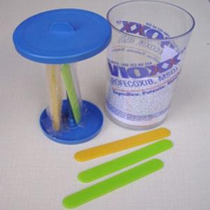 Wigon - Porta limpador de língua com gravação personalizada.