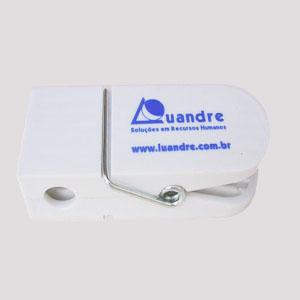 wigon - Prendedor de papel com gravação personalizada.