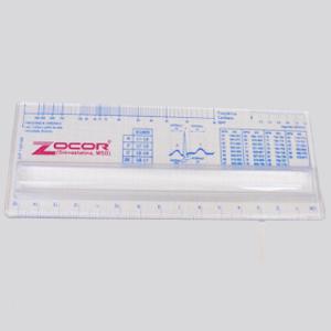 wigon - Régua de 15 cm com lupa e gravação personalizada.
