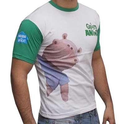 Camiseta gola careca - Camiseta Express
