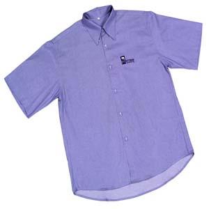 JC Confec��es - Camisa manga curta em tecido sempre igual, confeccionada em diversas cores e grava��es.