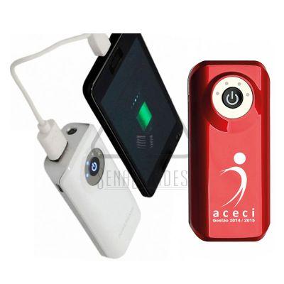 Sena Brindes - Carregador portátil de celular