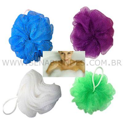 Sena Brindes - Esponja de banho em nylon