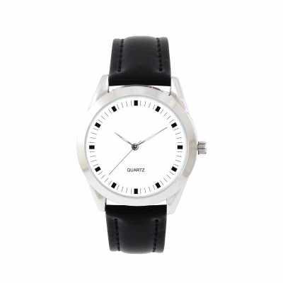 Mirus Relógios - Relógio de pulso analógico com pulseira de couro