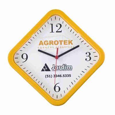 mirus-relogios - Relógio de parede redondo personalizado em diversas cores.