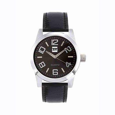 Mirus Relógios - Relógio de pulso analógico com pulseira de couro, garantia de 1 ano. Adquira já um relógio personalizado de ótima qualidade!