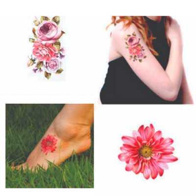 Tatuagens temporárias para jovens e adultos aprovadas pelo INMETRO Atóxicas e seguras. Designs para todas as idades. Fáceis de aplicar. Parece tatuage... - MT Brindes