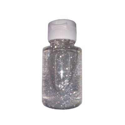 Álcool gel de bolso com glitter