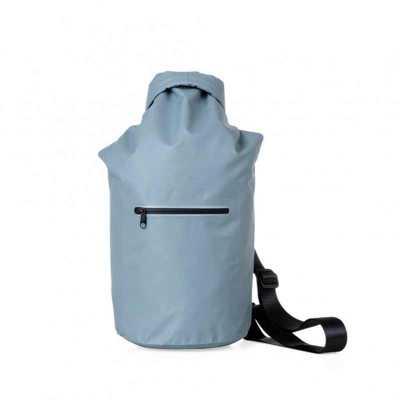 Mochila saco 10 litros à prova d´água. Material confeccionado em lona, possui costura soldada resistente, lacre dobrável, alça ajustável para costa(re... - MT Brindes