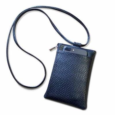 Mobile bag - confeccionada em sintético flórida Medidas: 12x19cm