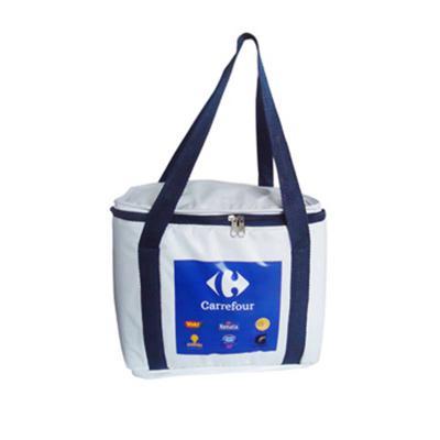 ato-produtos - Bolsa térmica em pvc camurça com gravação personalizada.