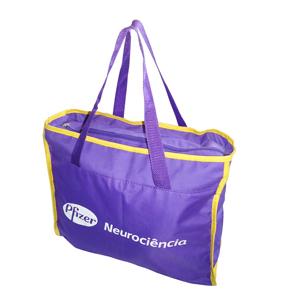 ato-produtos-promocionais - Bolsa em nylon com gravação personalizada.